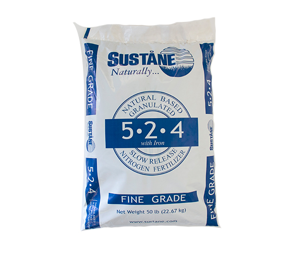 Sustane 5-2-4 fertiliser organic ags composted soil