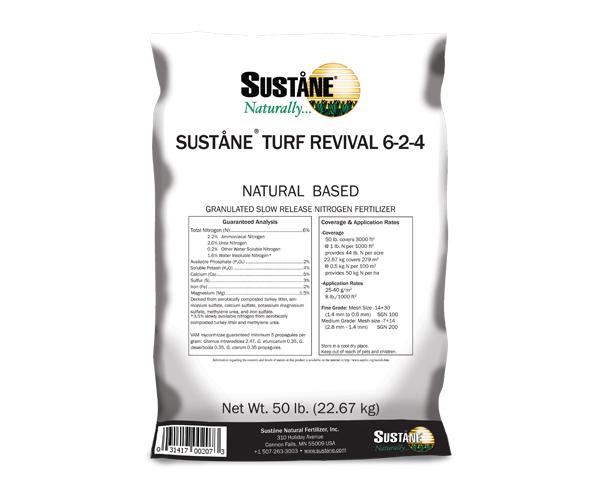 sustane turf revival 6-2-4