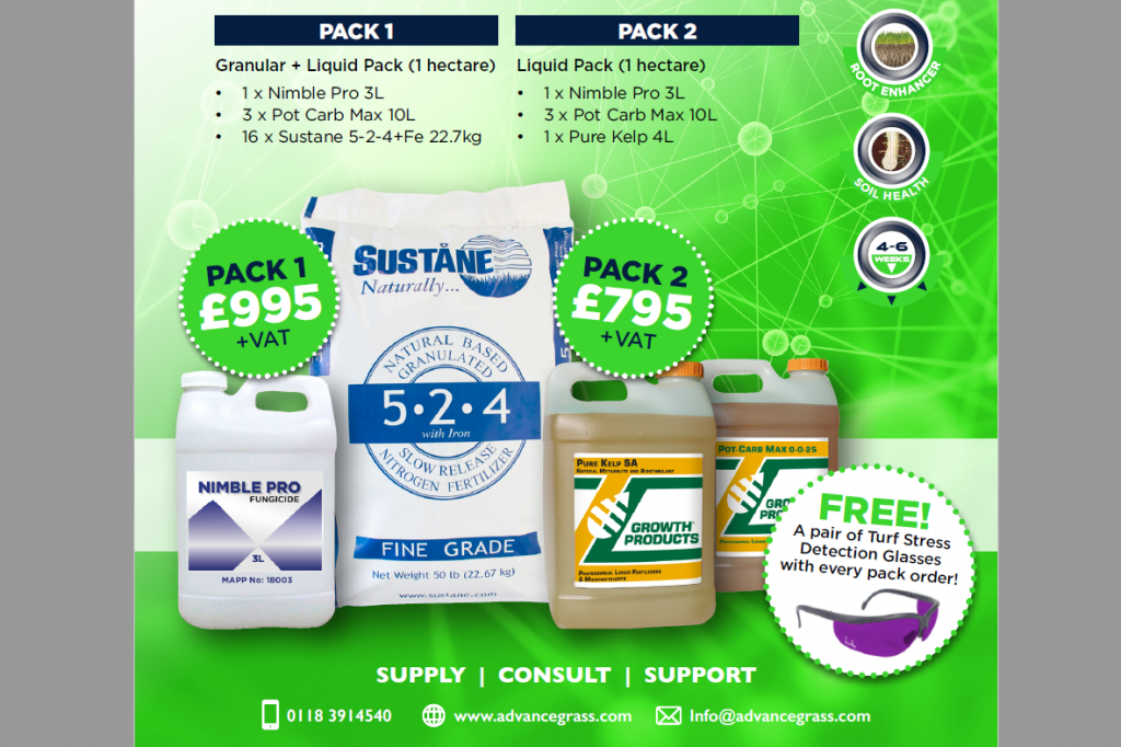 AGS Summer Stress Promotion Fertiliser Fungicide 2018 AGS agronomy