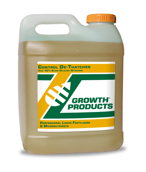 control_dethatcher_bottle AGS fertiliser nutrition thatch sports turf