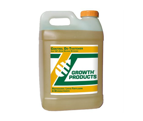control dethatcher bottle AGS growth products